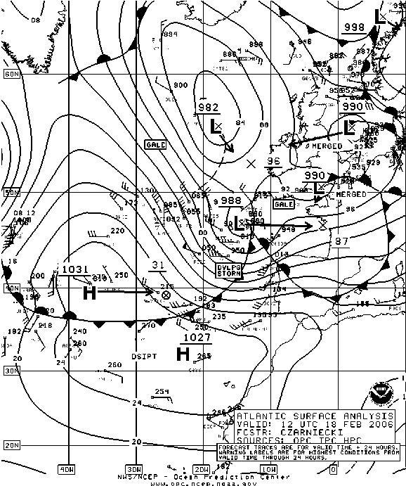 2006 atlantic storm
