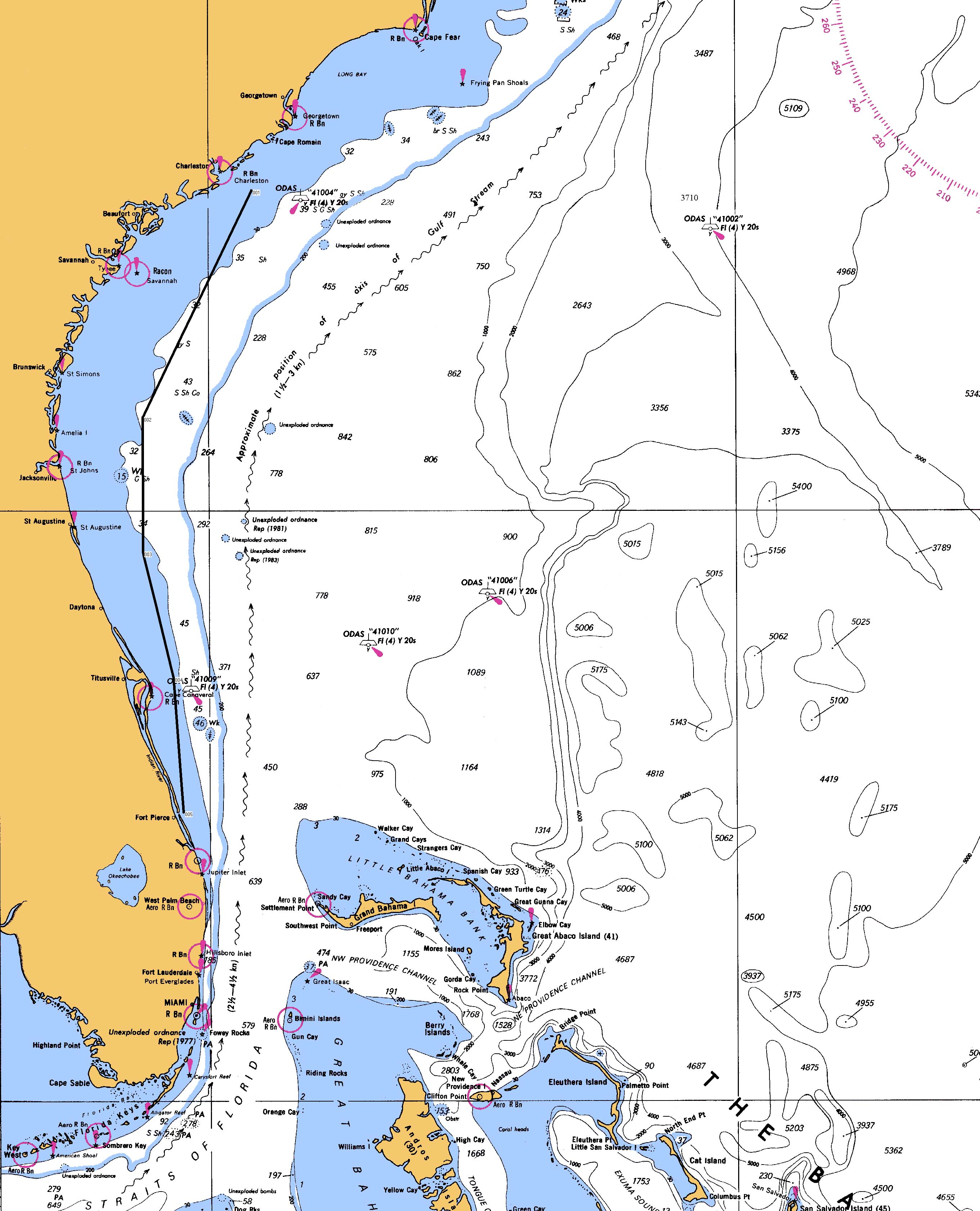 Map Of Fort Pierce Florida.Ft Pierce Fl