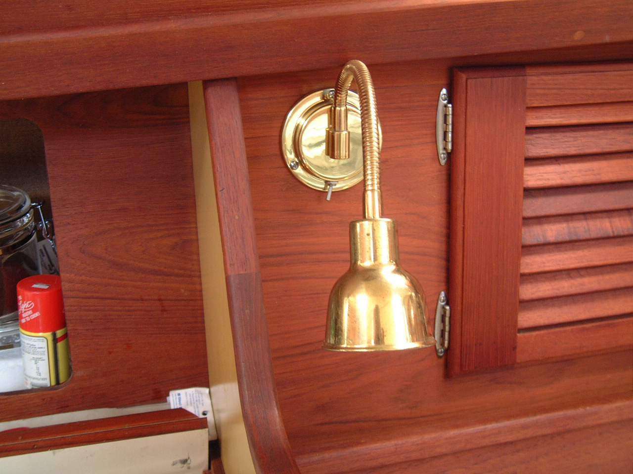 Cabin Upgrades Wiring Boat Lights Click On Picture To View At Full Resolution